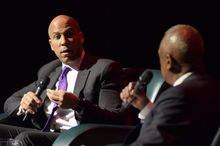 Senator Cory Booker and Wade Henderson