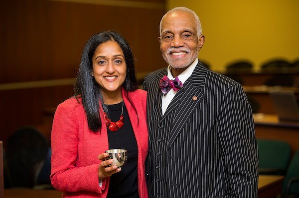 Vanita Gupta and Dean Brittain